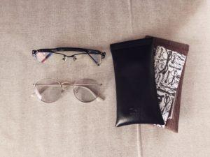 メガネとメガネケース②