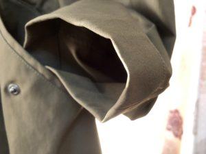 コートの袖