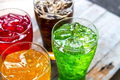 4種類のジュース