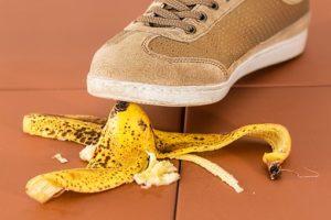 靴とバナナ