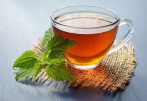 紅茶とミント