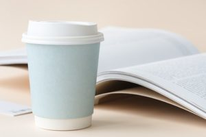コーヒーと本②