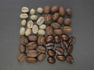 4種のコーヒー豆