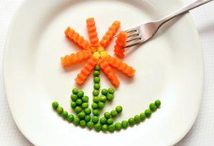 野菜で作ったお花