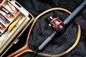 釣り竿とルアー