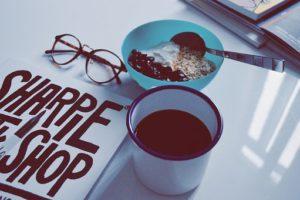 朝食のグラノーラ