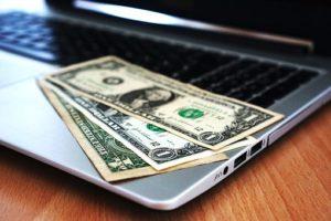 PCと紙幣