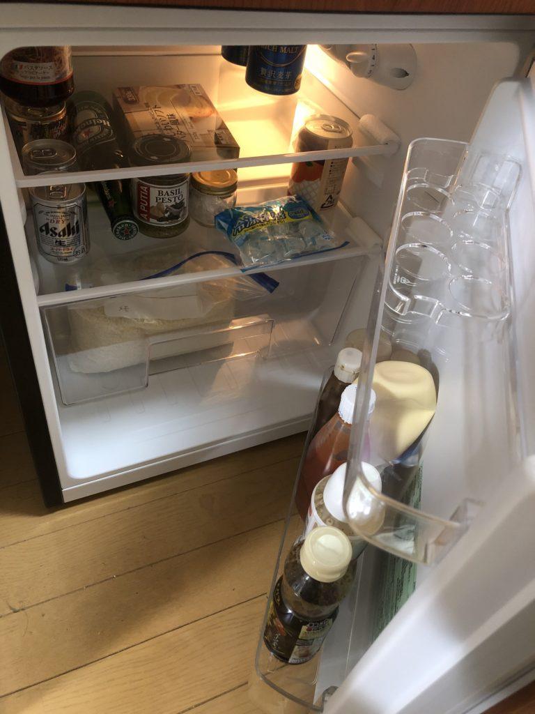 1人暮らしの冷蔵庫の容量