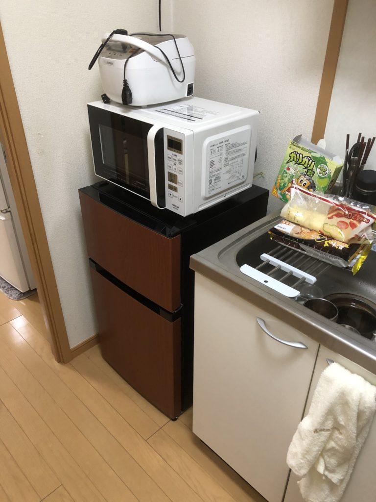 1人暮らしの冷蔵庫