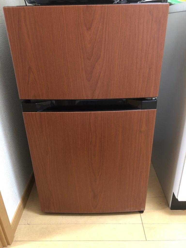 お洒落な冷蔵庫