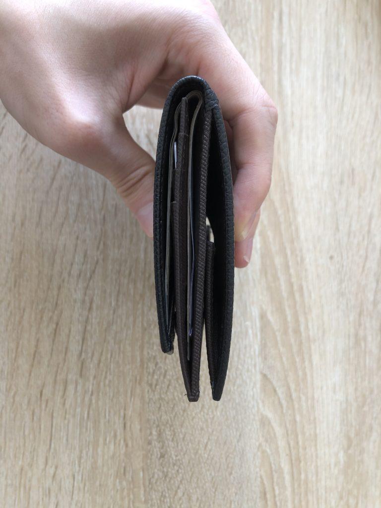 薄い財布【小銭入れ付き】